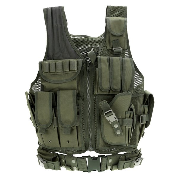 2019 men tactical vest hunting vest molle combat assault plate carrier tactical vests outdoor jungle cs vests thumbnail