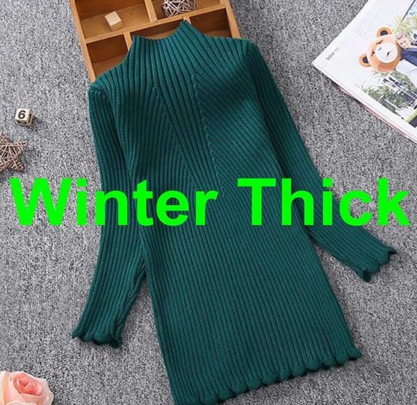 kış kalın yeşil