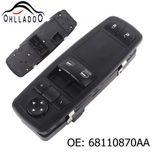 top popular HLLADO High Quality Car Power Window Switch Driver Lh 68110870AA 681 108 70AA for 2012-2019 D odge Caravan Auto Parts 2021