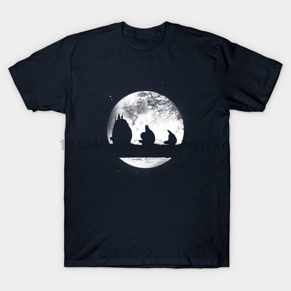 Herren-shirt Kurzarm Kleine Freunde Manga T-Shirt O Ansatz Frauen Tshirt