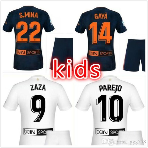 2018 Children's Thailand Zaza 2019 Chandal From Valencia Cf Suit Football K 3 Jersey Camiseta Gay Ggg558 Futbol