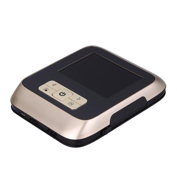 Videocamera Porta degli occhi di sicurezza del visore Videocitofono occhi di gatto elettronici 3