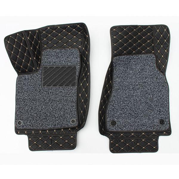 3pcs Full Set Surround Car Floor Mat Boot Rear Trunk Cargo Liner Tray Carpet for Smart fortwo 2008 2009 2010 2011 2012 2013 2014