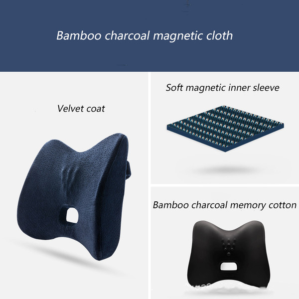 Awe Inspiring 38X34X8Cm Lumbar Support Pillow Comfortable Massage Bamboo Charcoal Memory Cotton Car Seat Office Chair Back Support Cushion Car Seat Covers With Caraccident5 Cool Chair Designs And Ideas Caraccident5Info