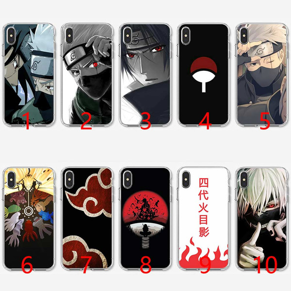 Naruto kakashi japonês anime soft silicone tpu phone case para iphone 5 5s se 6 6 s 7 8 plus x xr xs max capa