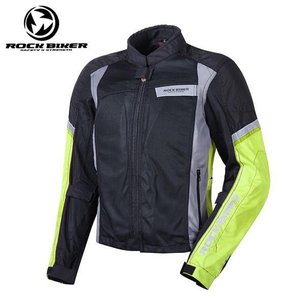 Men's Motorcycle Jacket Breathable Women Motorcycle Motocross Off-Road Racing Jacket Body Armor Summer Mesh Clothing