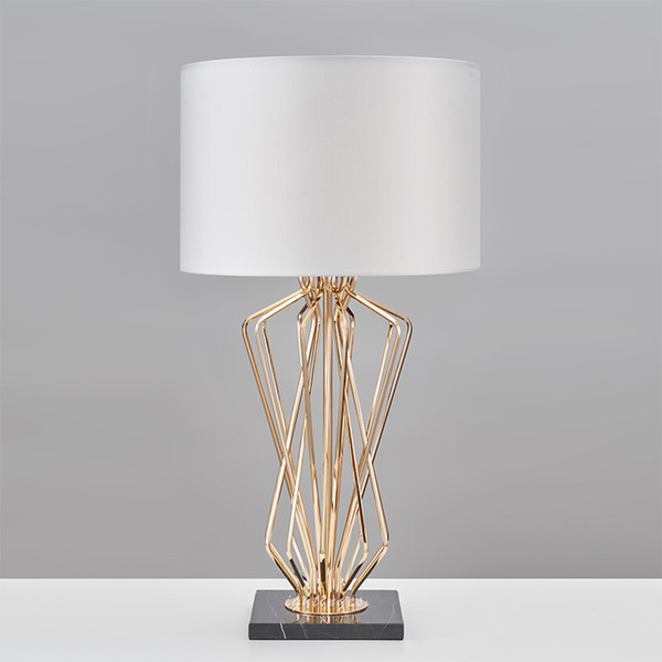 2019 Modern Table Lamp For Living Room Bedroom Contemporary Desk Light Bedside Lamp Metal Plating Table Design Home Decoration From Wyiyi 292 67