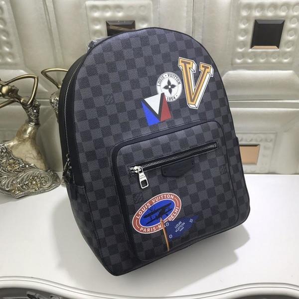 2019 N41473 Printing neue Art und Weise der Frauen der Männer Rucksack Tasche Reisetaschen Handtaschen Rucksäcke Taschen Schultertaschen Handtaschen Gürteltasche