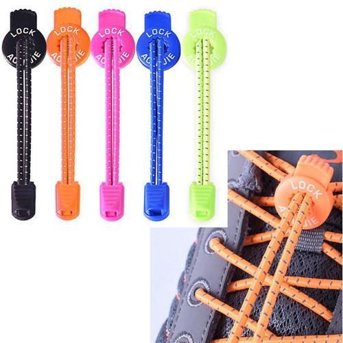 Pigri Plastic Man Lacci blocco Lacci scarpa da corsa Triathlon Sport Trainer Bisogno Lace Up Shoe Lace adesivo di fissaggio a nastro