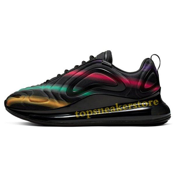 #13-Black Neon Streaks