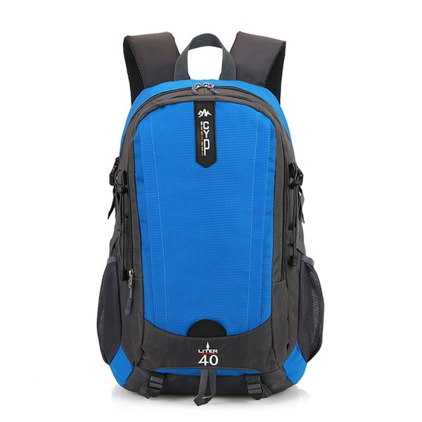 Casual Large Capacity Breathable Outdoor Travel Bag Unisex Wear Resistant Hiking Backpack Fashion Multi-purpose Backpack Outdoor Sports Pack