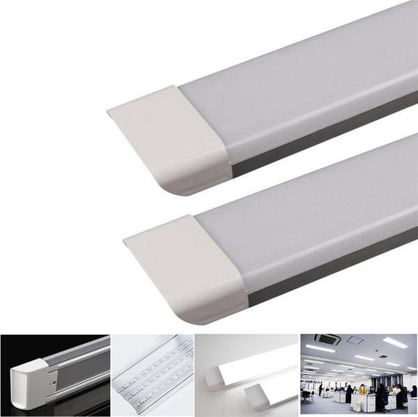 1ft 2ft 3ft 4ft LED Tube Light AC85-265V SMD2835 15W 30W 45W 55W 6500K Fluorescent Tubes Replacement Lighting Fixtures for Garage Closet