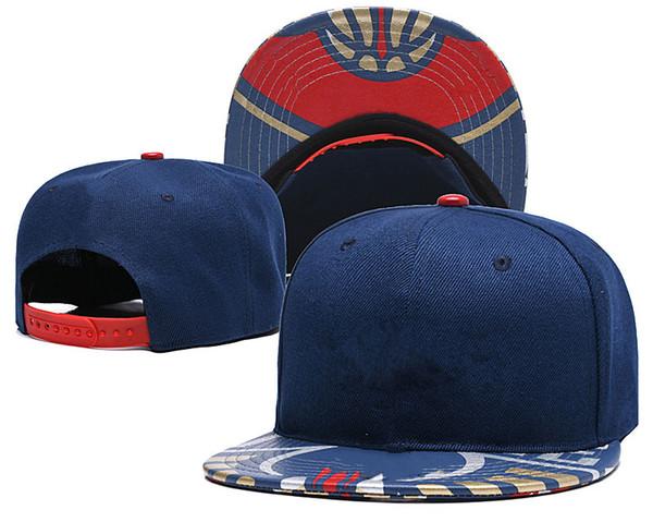Erkekler Kadınlar Ayarlanabilir Parti Gorras Hediye Spor Cap Toptan-Yeni Arrivel Basketbol Takımı New Orleans Snapback Cap Düz Kenarlı Şapka Tedarik