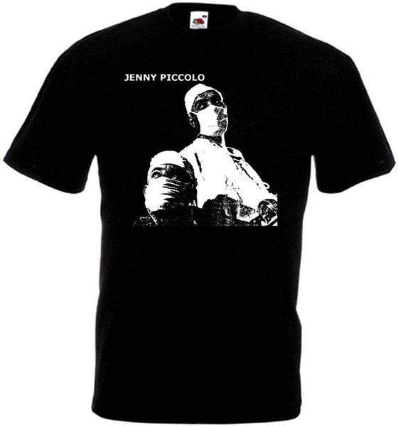 Jenny Piccolo v1 t-shirt black hardcore punk all sizes S-5XLFunny free shipping Unisex Casual Tshirt top