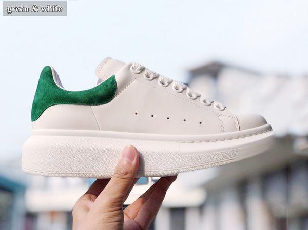 yeşil beyaz