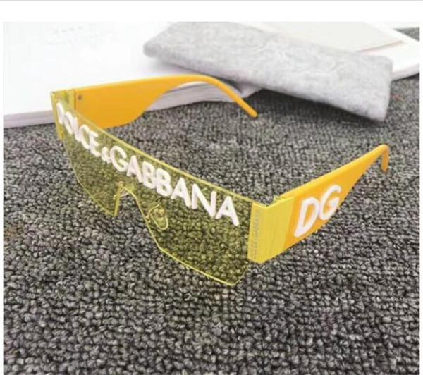 higt luxry conception femmes lunettes de soleil surdimensionnées Diamon lunettes célèbres lunettes mode uv lunettes de soleil polarisées avec la boîte GQ-2