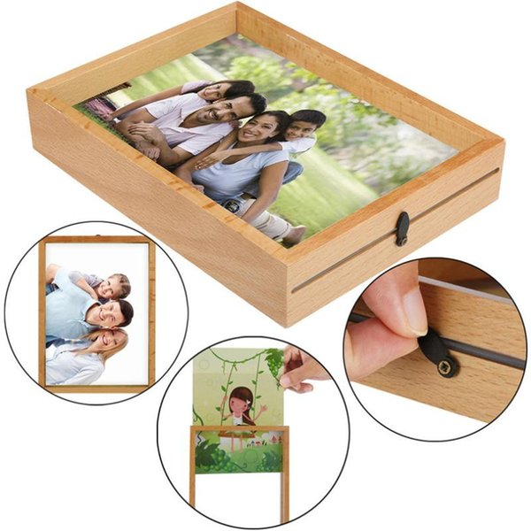 square wall deor.htm 2020 7 inch photo wall frame classic square wooden picture frame  square wooden picture frame