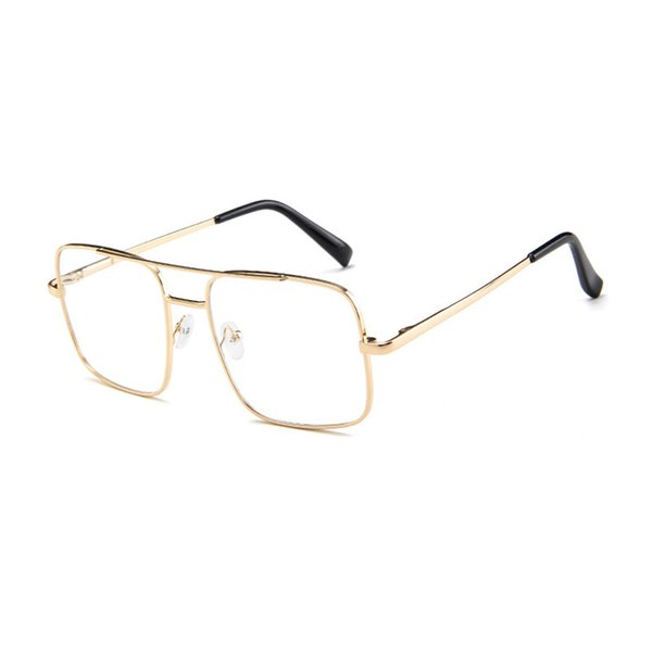 C8 Gold Frame Clear Lens