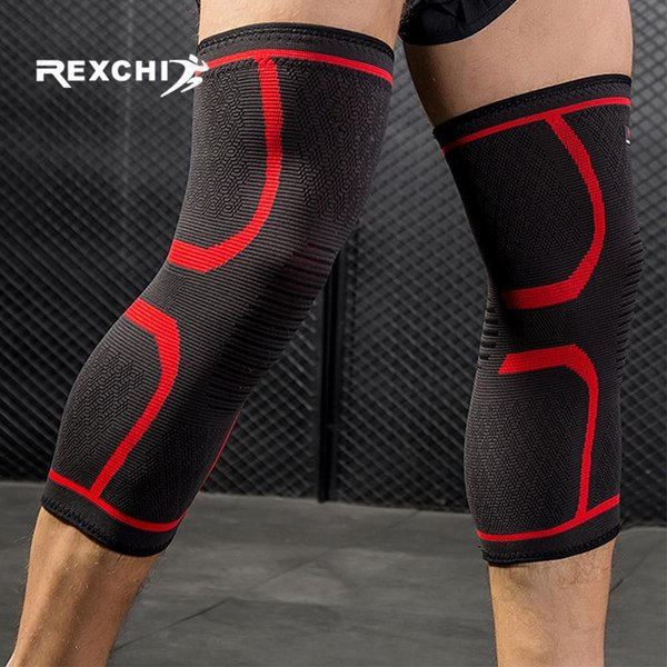 2pcs Knee Pad Sports Protective Volleyball Basketball Knee Brace Fitness Running