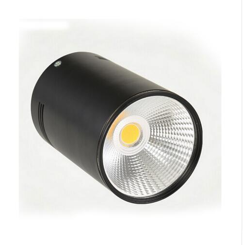 black10W ceiling light