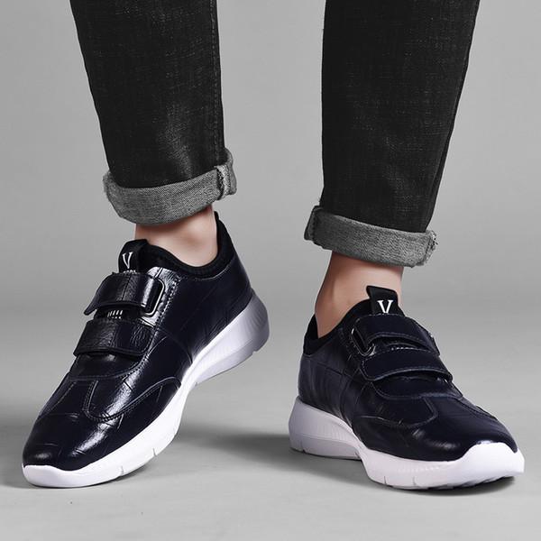 2019 chaussures de sport d'extérieur mode portent des chaussures de plein air pour hommes en cuir britanniques