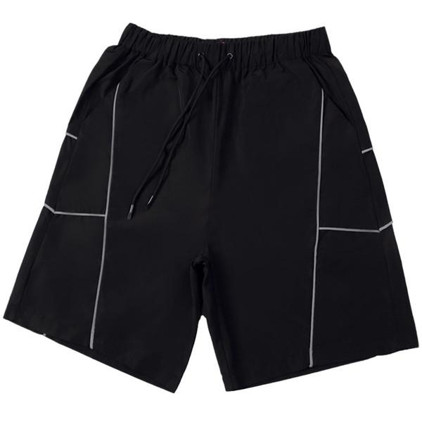 2019 Mens Designer Shorts Verão Novo 3 M Listras Reflexivas Mens Sports Shorts Solto Corrida Noturna Jogging Cinco p formigas