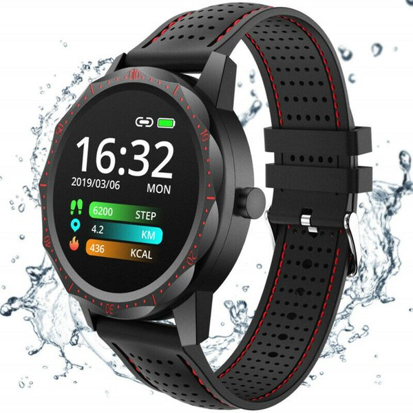 SKY1 Smart Watch Blood Pressure Heart Rate Monitor Bluetooth 4.0 for iOS Android
