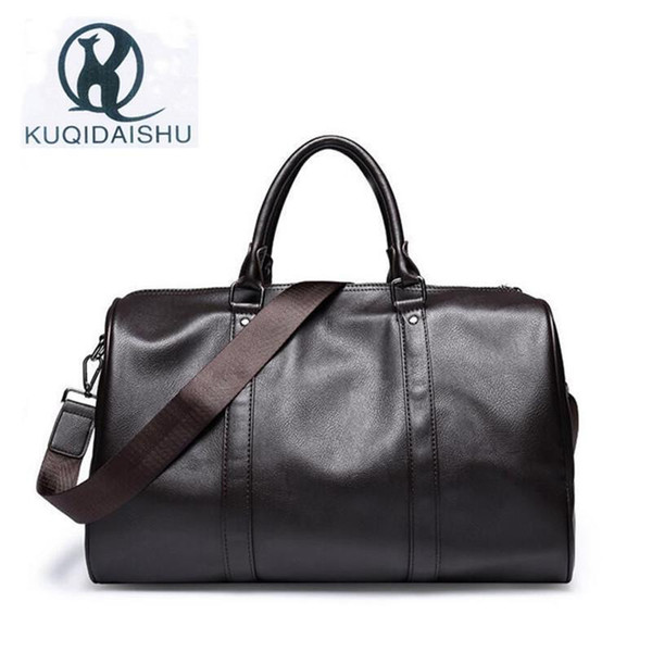 High Quality Soft PU Leather Tote Bag Business Casual Handbag Large Capacity Messenger Bags Travel Bag Sacoche Homme