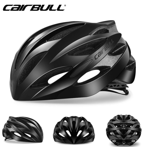 2019 Lightweight Bicycle Helmet Breathable Road Racing Helmets Sports Safety All-terrai Cycling Helmet M L Black White