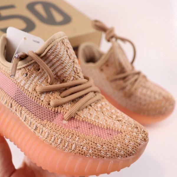 [avec boîte] 2019 dernière correspondance de couleurs 350 V2 - Chaussures de sport, chaussures de course pour enfants, chaussures de course enfants