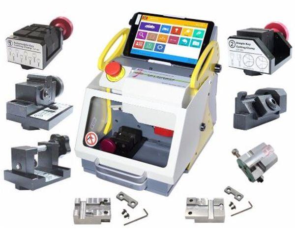 2019 TOP Quality Full Automatic SEC-E9 Key Cutting Machine Auto Key Programmer For All Cars SEC-E9 Key Cutting Machine Silca Machine