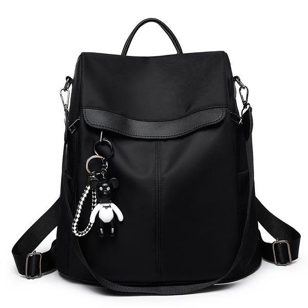 Backpacks Bag Leisure Oxford Women Backpack Female Cute Canvas Fashion Backpack Femal Design For Girls Leisure Travel School MX190708