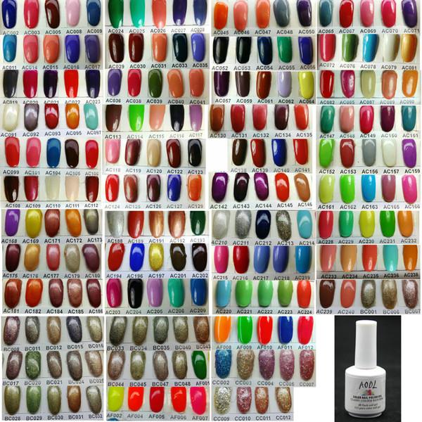 top popular * HIGH QUALITY * New Edition 6Pcs Lot 15ml 5oz Soak-off Soak Off Color UV Gel Polish for Nail Art LED Gel Health * 223 Color can be chosen* 2021