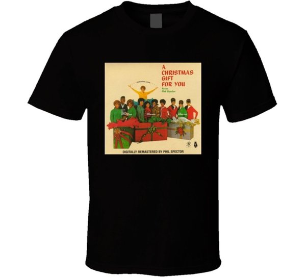 A Christmas Gift For You From Phil Spector.A Christmas Gift For You From Phil Spector Album Cover T Shirtfunny Unisex Casual Tshirt Top Funny T Shirts For Men Make T Shirts From Mvptshirt