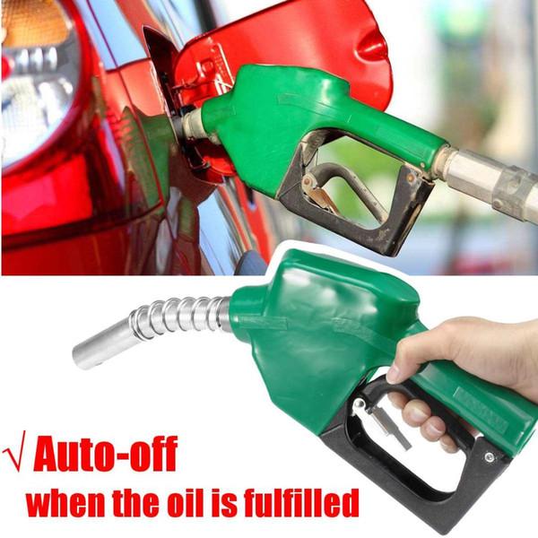 Boquilla de llenado de acero inoxidable Pistola de corte automático Boquilla de llenado de combustible Herramienta de dispensación de aceite diesel Pistola de llenado de agua y aceite