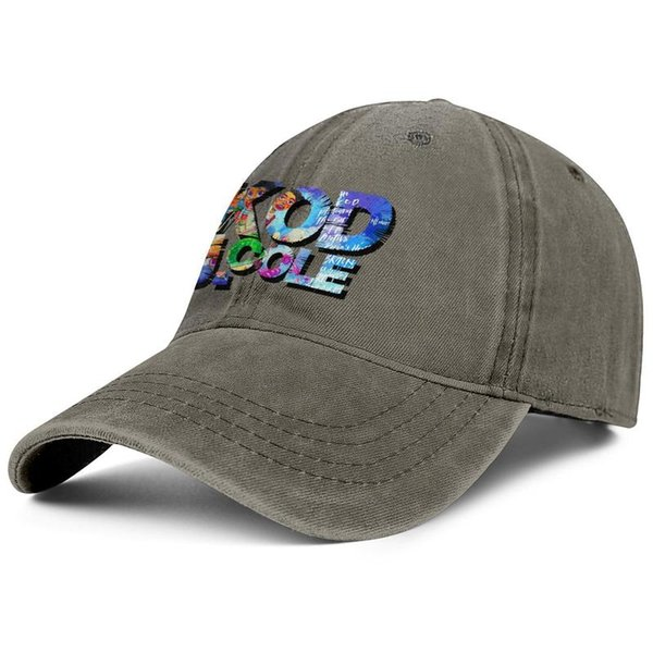 J. Cole KOD brown mens and women trucker denim cap cool fitted custom design your own fitted cute trendy personalised denim hats