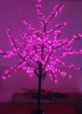 Navire gratuit 5ft 1.5M hauteur LED fleur de cerisier arbre mariage en plein air jardin de vacances de Noël lumière Decor LED