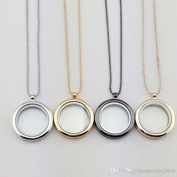 30mm floating locket DIY Jewelry transparent glass frames Fashion jewelry floating charm lockets pendants ak029