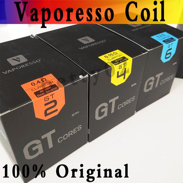 1000% Otantik Vaporesso GT Serisi Çekirdek NRG Bobin Başkanı GT2 GT4 GT6 GT8 GTM GT Örgü GT Revenger Kit için Yedek Bobinler