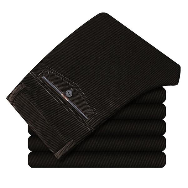 New Fashion Mens Business Formal Suit Pants Slim Fit Design Men Trouser Pants Custom made Trousers formal Elasticity winter pant