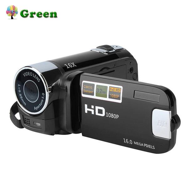 Mini Taşınabilir 2.7 Inç Dijital Video Kamera Kamera TFT LCD Ekran Full HD 720 P 16x Zoom DV Kamera KOM Video Recoding