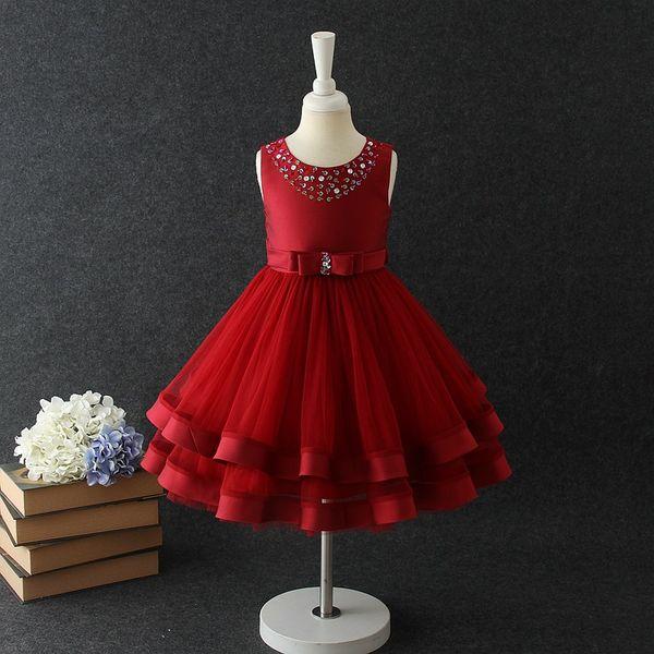 Compre Baby Girls Party Dress 2019 Elegante Vestido De Noche Para Niñas Vestidos De Cumpleaños Para Niños De 3 A 10 Años Ropa Para Niñas A 2413 Del