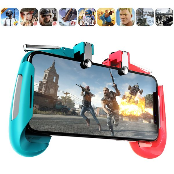 For IOS Android Mobile Game Controller Gamepad For PUBG metal L1R1 Mobile Phone Joystick Sensitive Shoot and Aim Triggers New