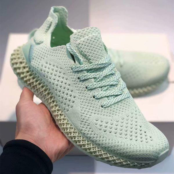 futurecraft 4d print aero green rainbow grey run shoes consortium runner inv 4d women jogginge shoe mens designer sneakers sports trainers