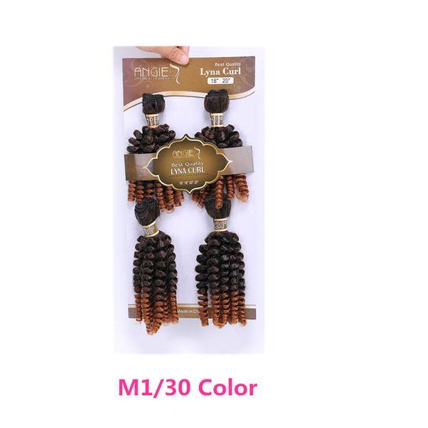 M130 Fumi 4pcs cabelo encaracolado