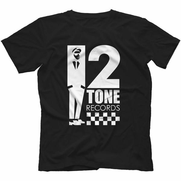 2 Registros de Tom T-Shirt 100% Algodão Reggae Ska Trojan Rocksteady Os Especiais Macho Hip Hop engraçado Camisetas atacado barato