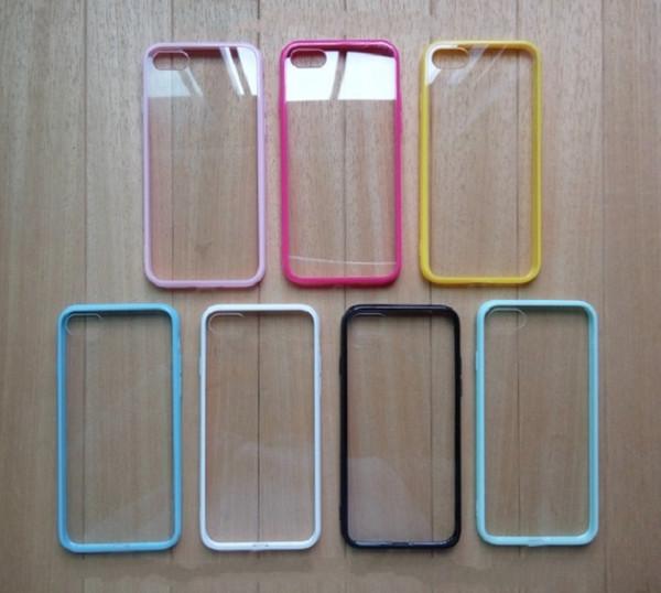 Дизайнерский прозрачный акриловый силиконовый чехол для iPhone для iPhone 7 8 X XR XS Plus iPhoneX Новые дешевые Задняя крышка Защитите чехлы для телефонов