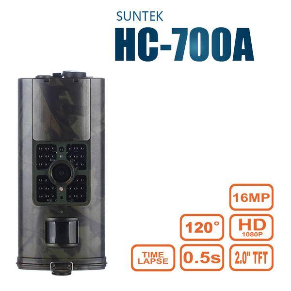 SUNTEKCAM Trai Hunting Camera Wildlife Scouting Surveillance Tracking HC700A Night Vision Photo Traps IR Cameras Cam