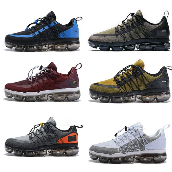 top popular Run UTILITY Running Shoes for Mens Medium Olive Fashion Sports luxury Burgundy Crush Men Trainers designer HOT shoes Sneakers size40-4 2019
