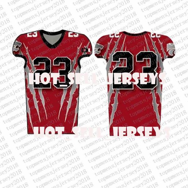 Top Personalizado Futebol Jerseys Mens bordado Logos Jersey frete grátis atacado baratos Qualquer nome de qualquer número Tamanho S-XXXL78563